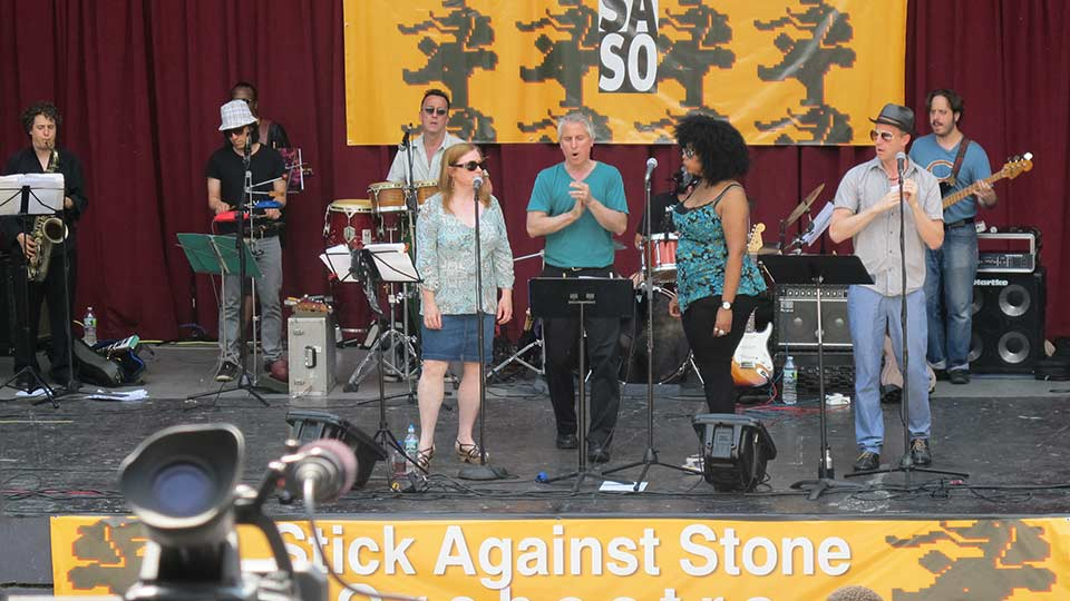 Image from Stick Against Stone Documentary