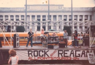 Rock Against Reagan tour